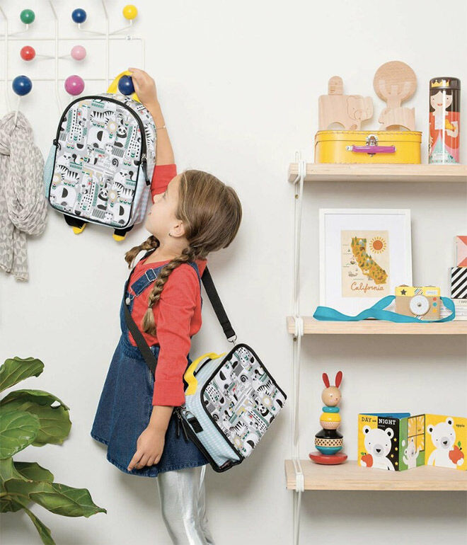 Petite Collage Preschooler bag