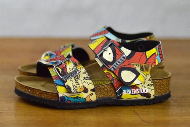 Spiderman New York BF Birkenstocks for kids