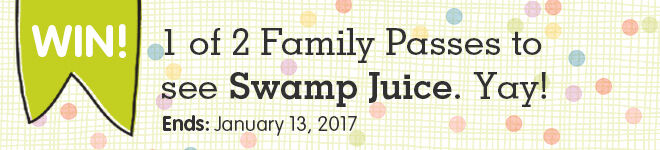 Win family passes to swamp juice