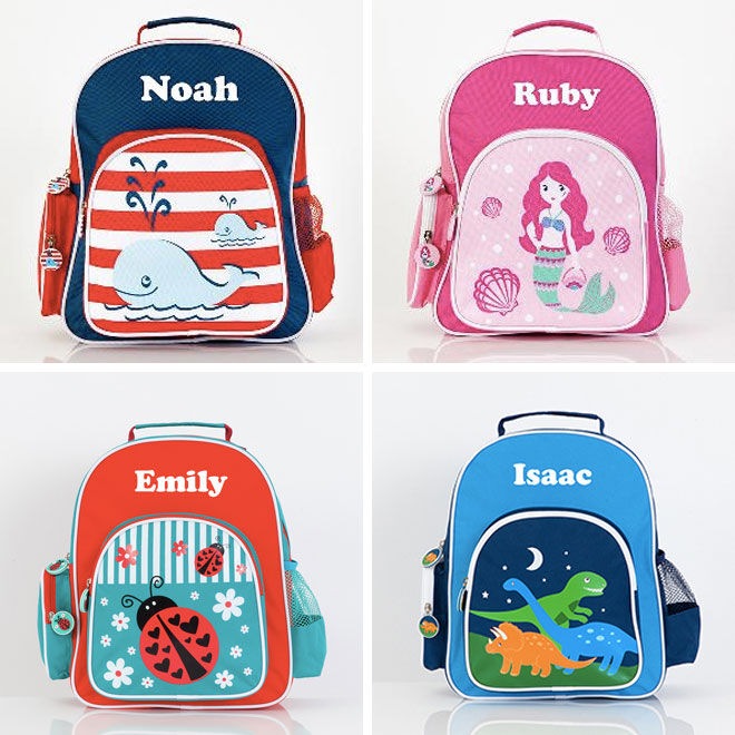 Yay Me Personalised preschooler backpack