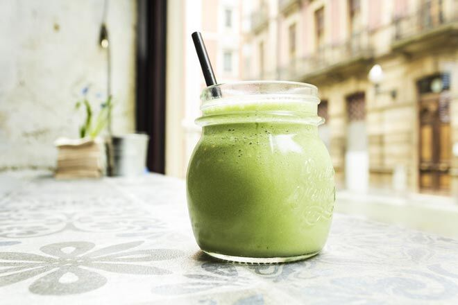 calcium rich green smoothie for pregnancy