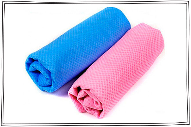 chill baby cooling towel