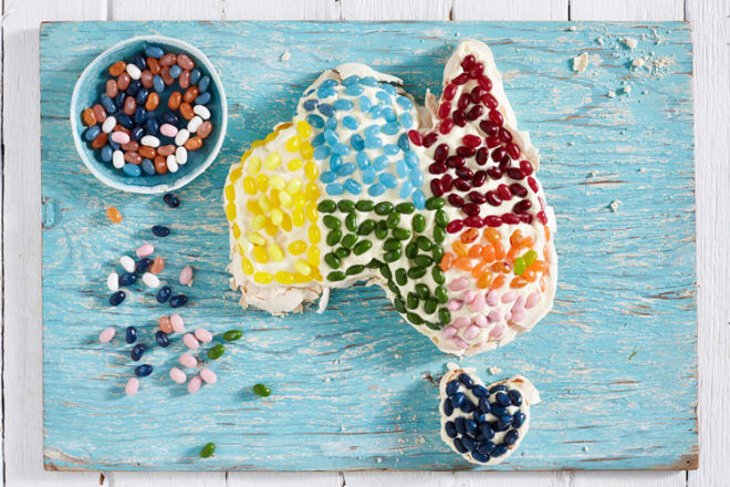 jelly belly australia day food