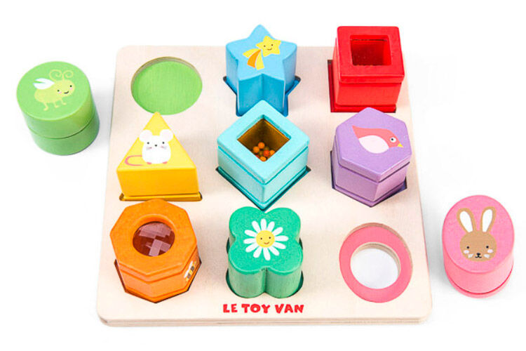 le toy van petilou sensory shapes baby