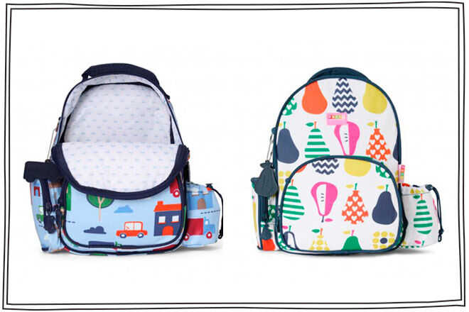 penny scallion design backpack