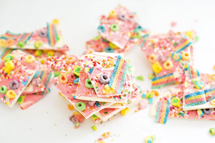 unicorn bark recipe
