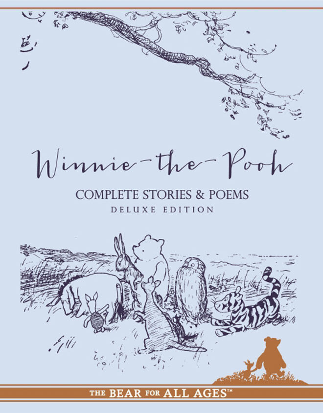 winnie the pooh book collection deluxe