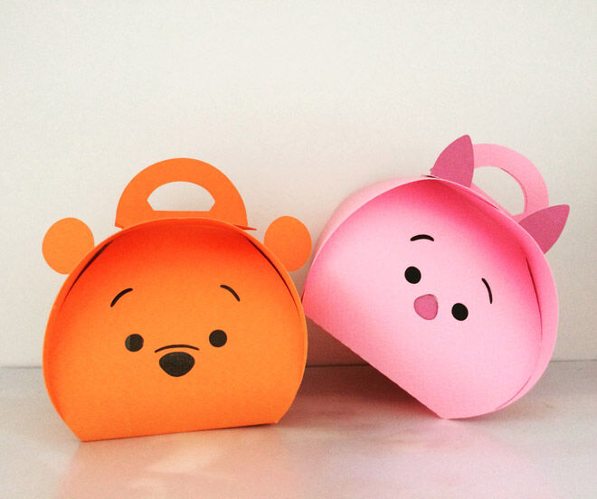 winnie the pooh party favour bags