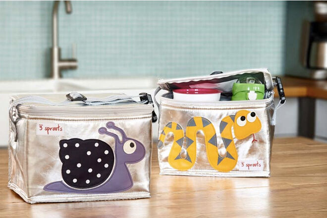 3 sprouts insulated lunch bags