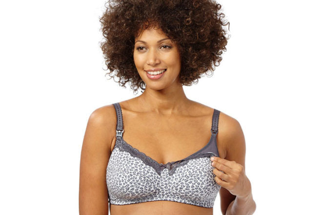 stylish plus size maternity bra