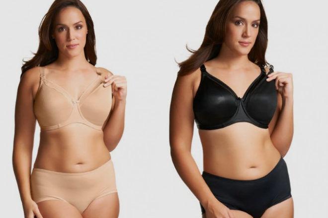 Elomi plus size maternity bra