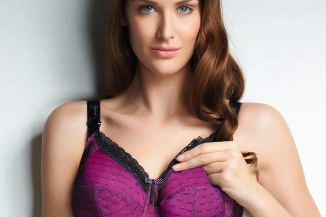 plus size maternity bra