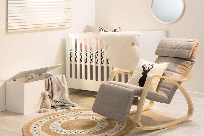 Mocka Amalfi cot & toddler bed