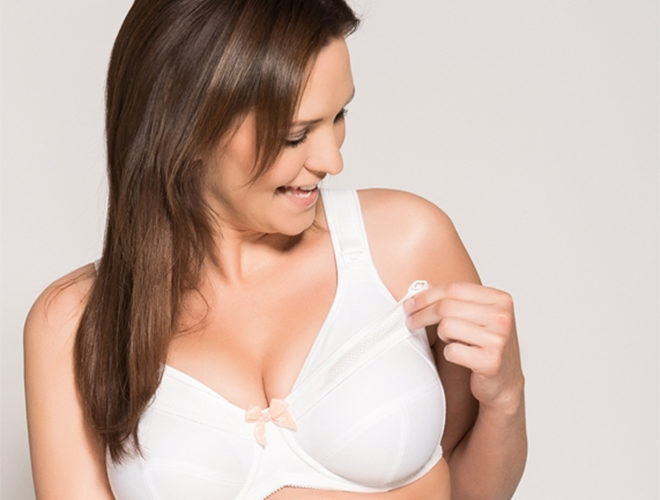 Ulla Lily plus-size maternity bra