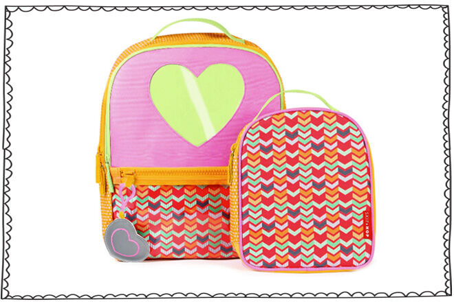 Valentine's Day - Skip Hop Backpack Set Hearts