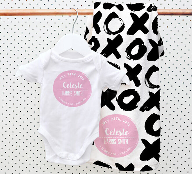 Valentine's Day - Spatz Personalised blanket and onesie