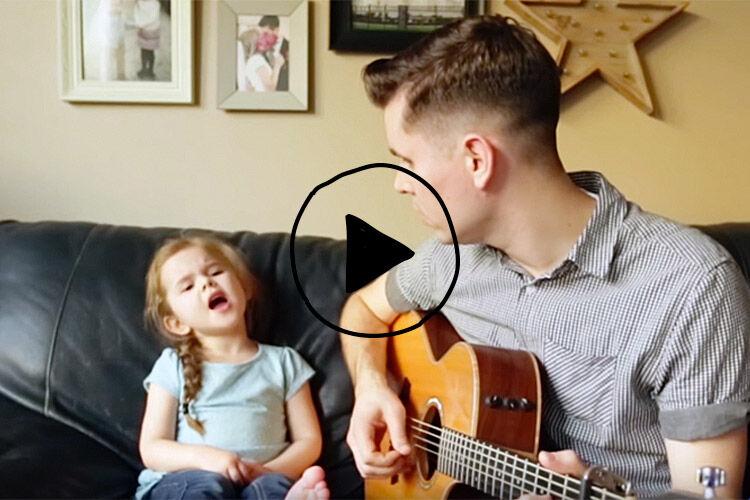 claire ryann viral singing video