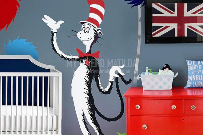 Cat in the Hat nursery