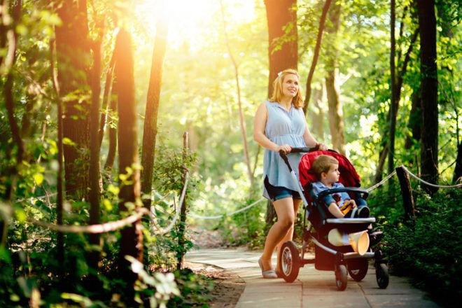 getting rid of stroller toddler kids