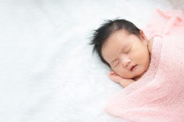 newborn asian baby