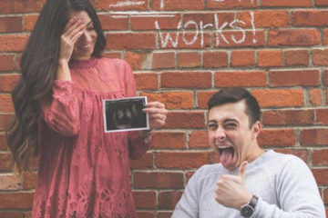 paraplegic father pregnancy announcement