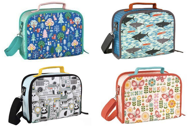 Petit collage lunch boxes insluated