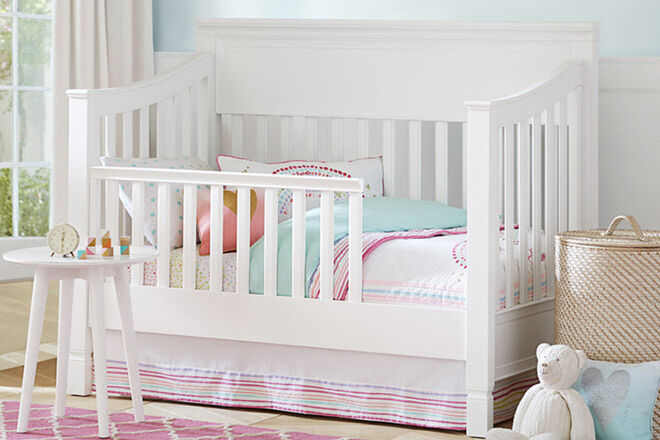 cot that turns into toddler bed