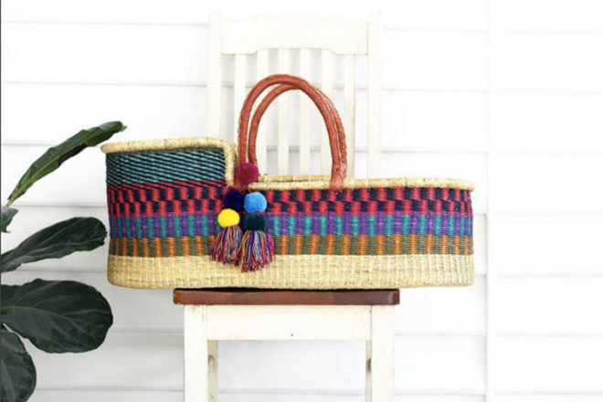 The Youngfolk Collective Moses Basket