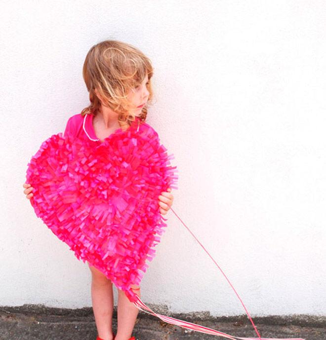 valentines day heart kite