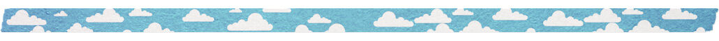 Pregnancy Category Cloud Washi Tape