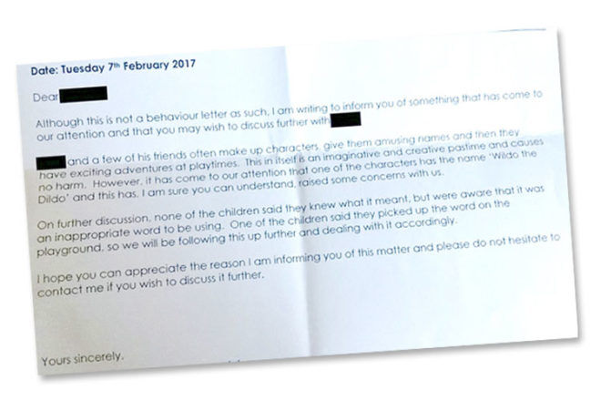 The Funniest School Letter Ever