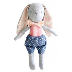 Alimrose Designs Louie Bunny Toy Rattle