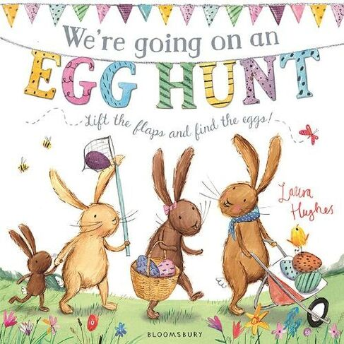 We're Going on an Egg Hunt Kids Picture Book