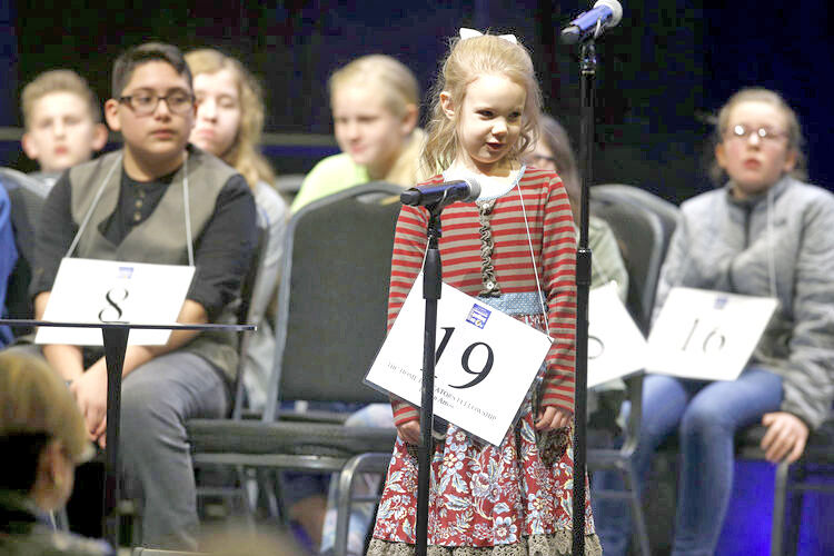 Edith fuller the 5 year old spelling bee chanp
