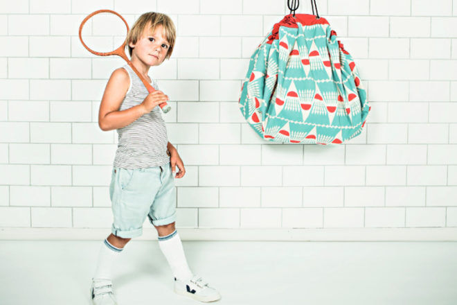 Play and Go badminton toy storage bags