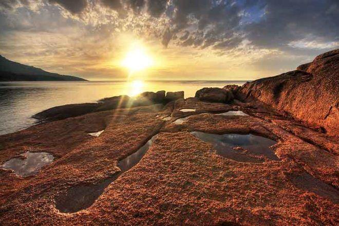Freycinet National Park family camp sites