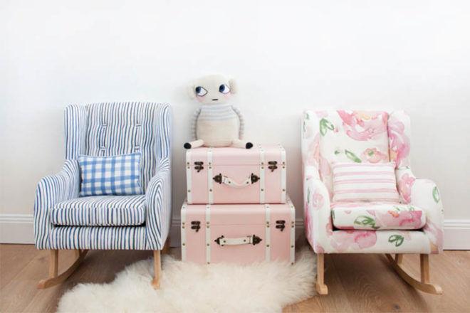 Hobbe Petite children's rocking chair