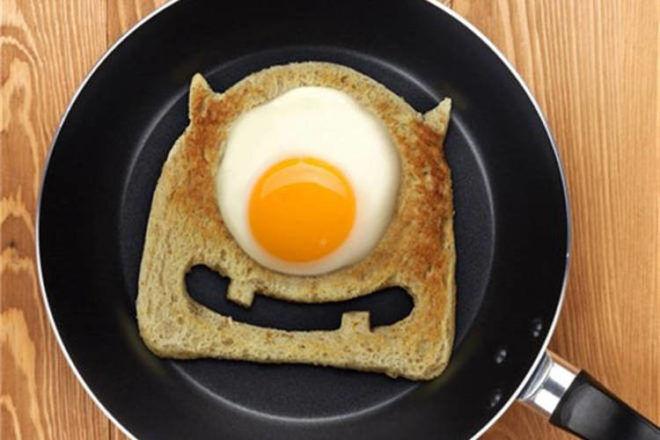 Fred Egg Monster Toast Cutter