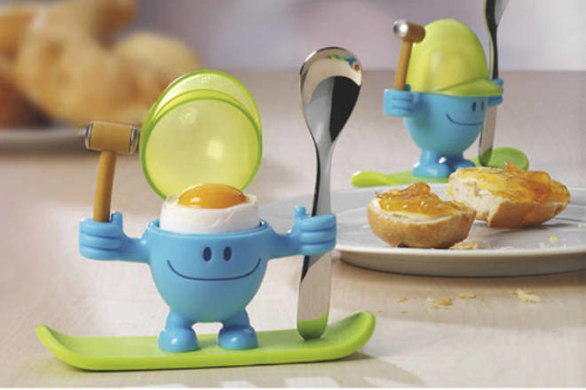 McEgg Egg Cup with Spoon