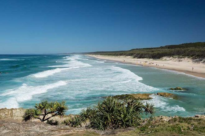 North Stradbroke Island family camping