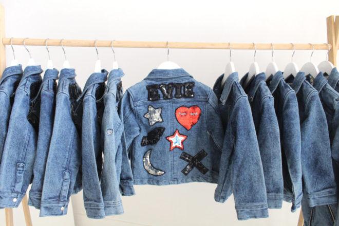 Sunday the Label personalised denim jacket