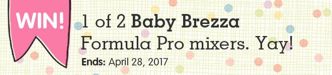 Win a Baby Brezza Formula Pro