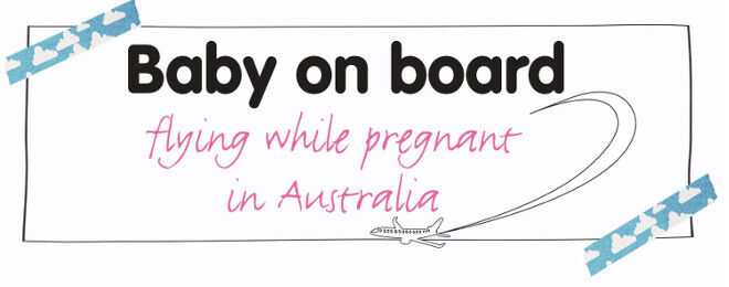 pregnancy and domestic plane travel tips