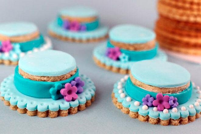 bakerella easter bonnet cookies
