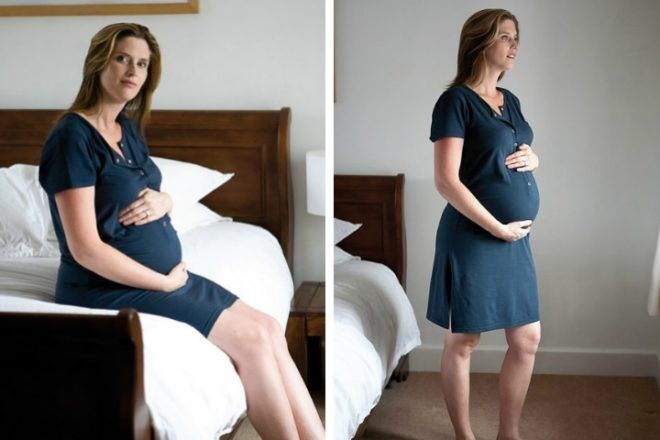 543b0817c2872 The birth shirt co bamboo maternity hospital gown