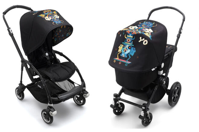 Bugaboo monster colllaboration Niark1