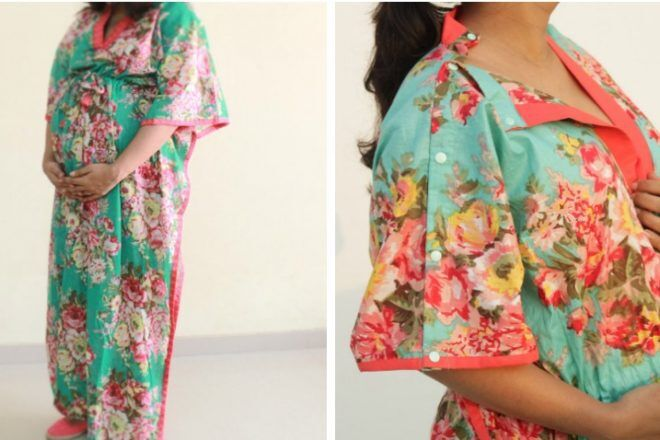 comfy clothing maternity hospital gown