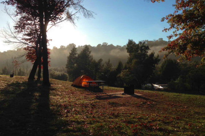 cotter campground act