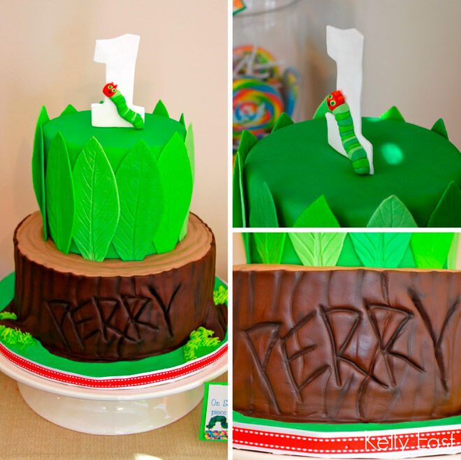 creative in color eric carle cake very hungry caterpillar