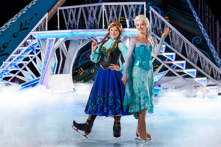 disney on ice frozen live show